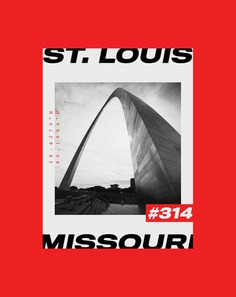 St. Louis Brutalist Poster Design