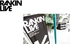 RANKIN LIVE Exhibition #branding #print #poster #art #music #layout #typography