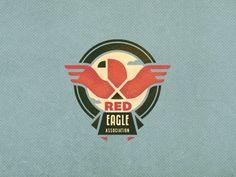 Red_eagle_3 #red #branding #association #charity #emblem #adline #bird #community #eagle #brassai #logo