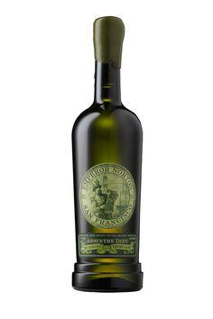 Raff Distillerie ~ Emperor Norton #Absinthe ~ Label Design #packaging