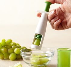 OXO Tomato And Grape Cutter #tech #flow #gadget #gift #ideas #cool