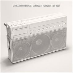 Stones Throw Podcast 64: Stones Throw 2011 mixed by PB Wolf | Stones Throw Records #boombox