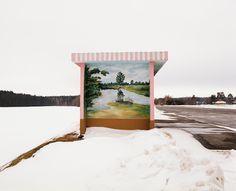 Alexandra Soldatova - Bus Stops in Belarus