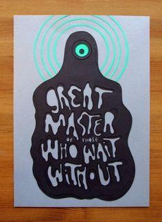 Designer Spotlight: Owen Glidersleeve, Cuts paper   Jared Erickson #monster #cut #illustration #paper