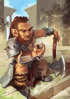 Gnome Barbarian, Fistbump Creation