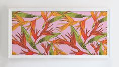 Bird of Paradise Pattern by Maria Umiewska