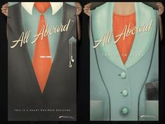 Dribbble - All Aboard: Suit Posters by Sarah Mick #aboard #mick #all #poster #sarah