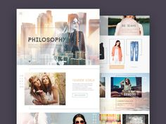 An elegant #store #template made in with an unique style.