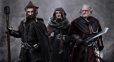 The Hobbit Unveils Three Dwarves - G4tv.com #rings #of #lord #the #dwarves #hobbit