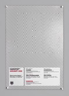 HardPop on the Behance Network — Designspiration #pattern