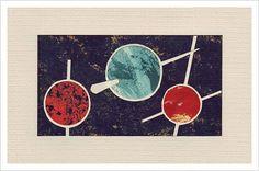 Chyrum Lambert – The Paper Tile Game / Aqua-Velvet #chyrum #collage #lambert