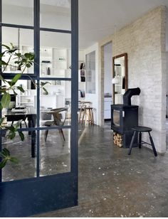 The Design Chaser: Windows + Doors | Steel Framed #interior #design #decor #deco #decoration