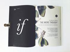 Salt & Wood, Zine. on Behance #print #design #layout