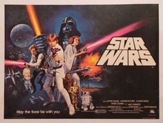 Tom William Chantrell Star Wars Poster, 1977