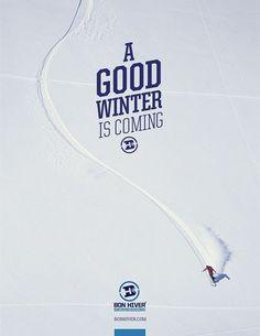 BonHiver_06 #typography #identity #poster