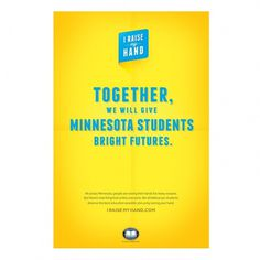 Education Minnesota – // The Studio of Ken Zakovich // #bright #print #education
