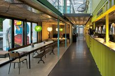 wahaca southbank experiment: shipping container restaurant #architecture #container