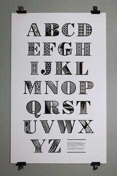 Bodoni - Jonny Holmes #type #print #typography