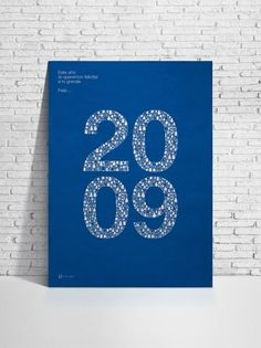 In-Store Media : Gabriel Morales #gabriel #morales #poster #blue #typography