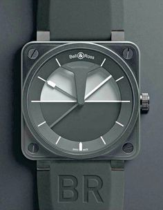 Bell #bellross #design #industrial #time #watch