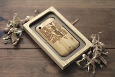 The Art of Doing Something #bamboo #design #iphone #wood #typography