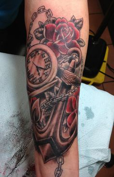 35 AWESOME ANCHOR TATTOO DESIGNS