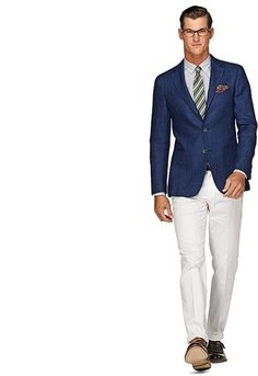 Jacket Blue Plain Havana C542e | Suitsupply Online Store #suit