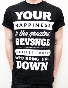 REV3NGE — Quote - Black #rev3nge #tshirt #apparel #shirt
