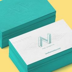 The Ninetys by Anton Burmistrov #logo #card #identity #business