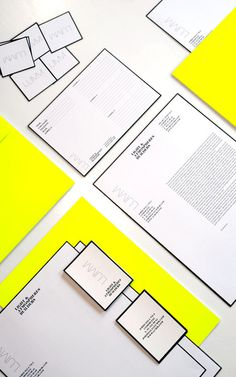 Graphic Design #stationary #neon