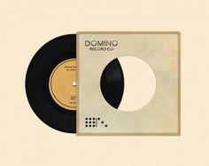 Domino Records #7 #inch #record #vinyl #domino #collective #logo #animal