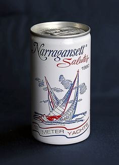 Vintage: 12 Meter Yacht Cans | Beautiful Beers #beer