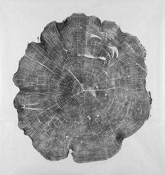 Inspiration Iacoli #wood #print #inck