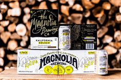 Everything is Brewtiful: Magnolia Brewing's Unique Packaging — The Dieline - Branding & Packaging Design