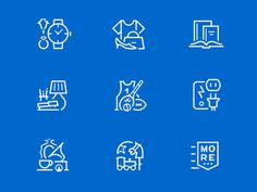 Icons for Value Appraisal App #icon #picto #symbol