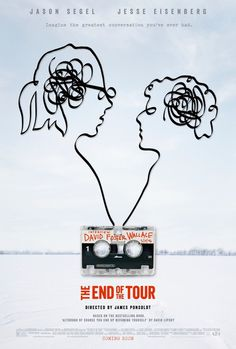 #theendofthetour #movie #poster #cinema #tape jasonsegel #jesseeisenberg