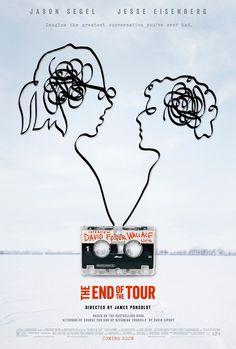 #theendofthetour #movie #poster #cinema #tape jasonsegel #jesseeisenberg