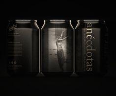San Miguel Anécdotas #packaging #beer #can #label