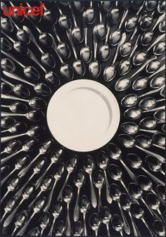 madfuture #plate #white #spoon #food #black #and #unicef #sex