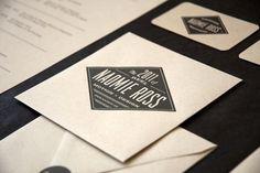 Letterhead | Lovely Stationery #naomie #ross