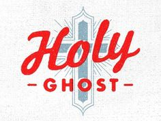 Dribbble - Holy Ghost by Jimmy Walker