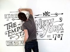 The Great Discontent: Dan Cassaro #cassaro #drawing #dan #typography