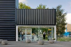 nl architects barneveld noord station designboom #container