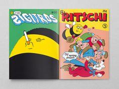 B-Sides 2012 #cartoon #magazine