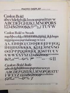 Daily Type Specimen #font #specimen #type #typography