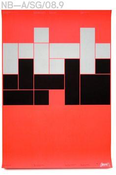 Neubau (Berlin)/NB-Rietveld™ Poster, DINA1 Promo Collaterals, Eindhoven 2008 #modernism #neubau