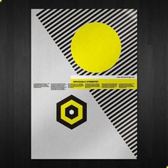 Impossible Symmetry on the Behance Network #poster