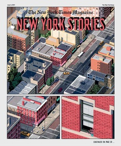 New York Times #newyork #illustration #city #comic #cover #magazine