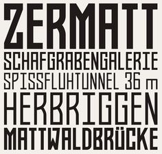 A bold font to make statements #fonts #type