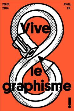 Vive le graphisme by Tristan Bagot.